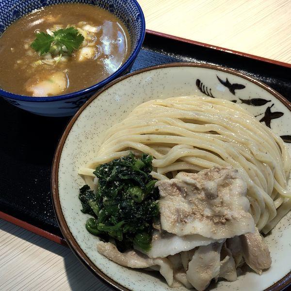 「鶴嶺峰つけ麺 幕内(並)」@らー麺土俵 鶴嶺峰の写真