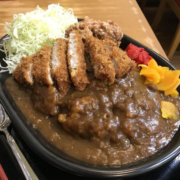 「ミックスカレー(¥1,000)」@どん八食堂 東糀谷店の写真