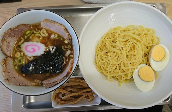「チャーシューつけ麺(小)+半メンマ(1200円)」@中華そば 大咲の写真
