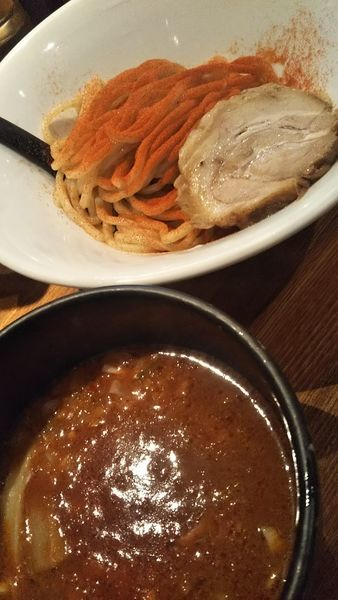 「大辛つけ麺(900円)」@R&Bの写真