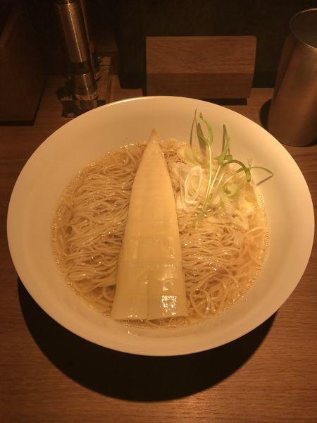 「塩ラーメン」@楢製麵の写真
