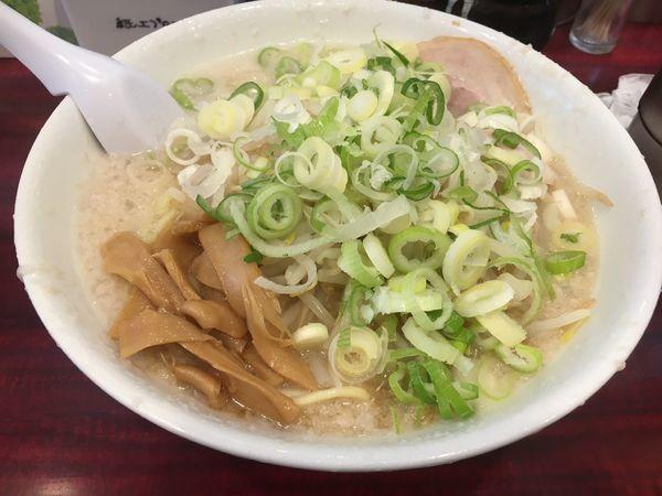 「ラーメン 大盛 ギタギタ」@こってりらーめん なりたけ TOKYOの写真