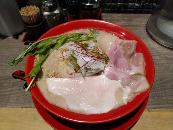 「特濃鶏白湯」@麺家ダイナSOUL 六甲道店の写真