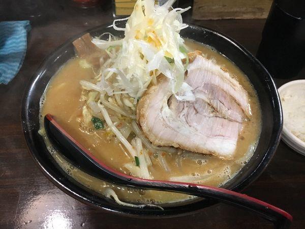 「味噌ラーメン 野菜増し」@麺処 花田 池袋店の写真