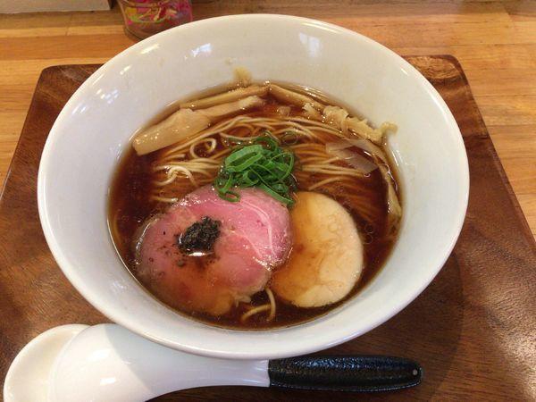 「ポルチーニ醤油らぁ麺 800円」@IRUCA-Tokyo-の写真