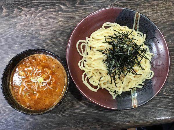 「ベジポタ辛つけ麺 900円」@まるのの写真