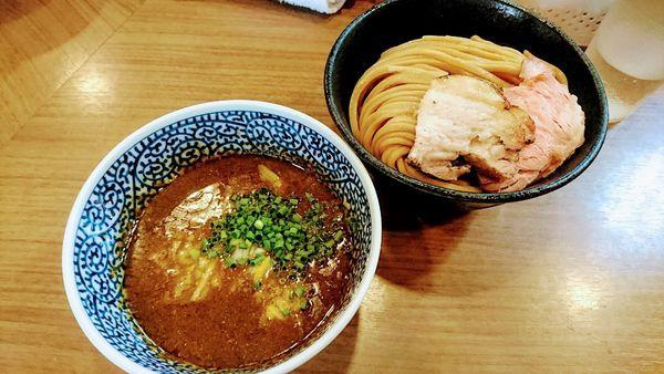 「極濃煮干しつけ麺(中)」@煮干しつけ麺 宮元の写真