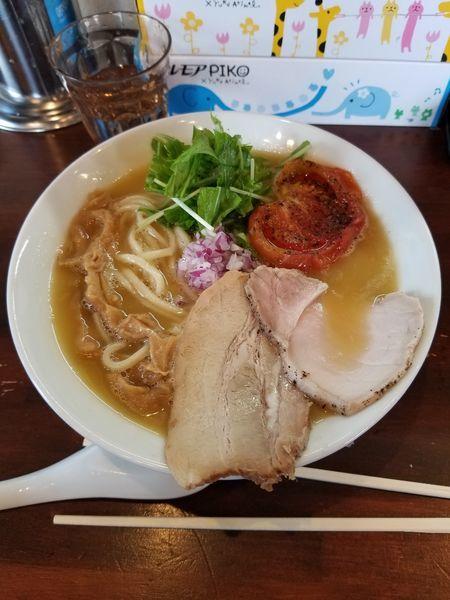「鶏白湯 醤油 大盛」@麺屋 京介の写真