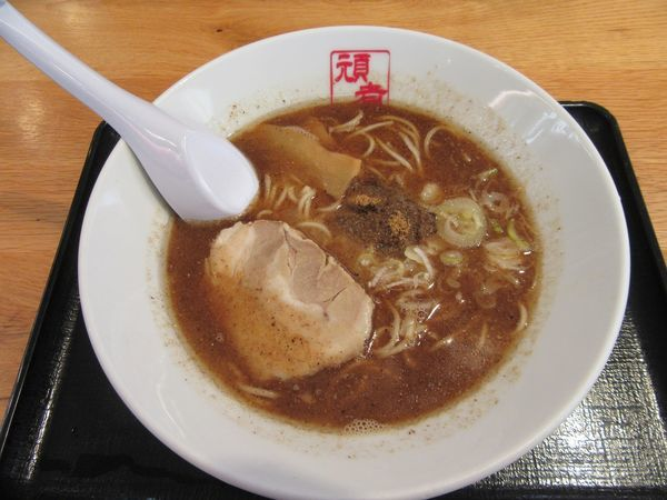 「濃厚魚介ラーメン(780円)」@GANJA RAMENの写真