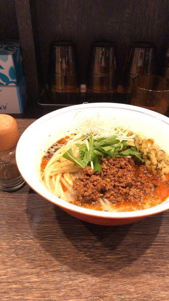 「冷やし坦々麺(限定B)880円」@麺処 景虎 戸塚安行店の写真