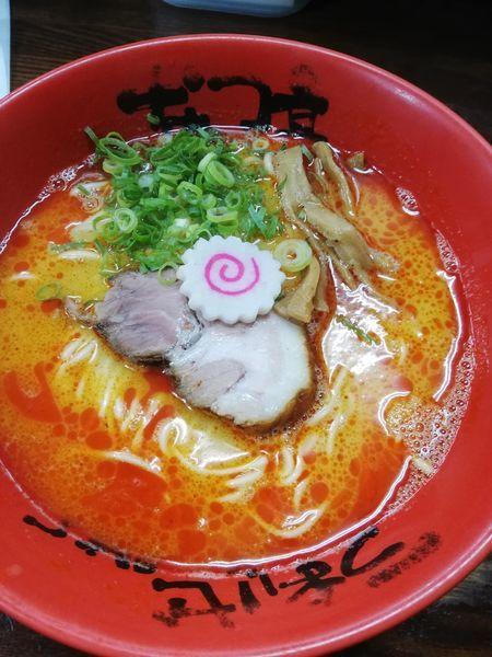 「赤マー油鶏白湯」@なんつッ亭 秦野本店の写真