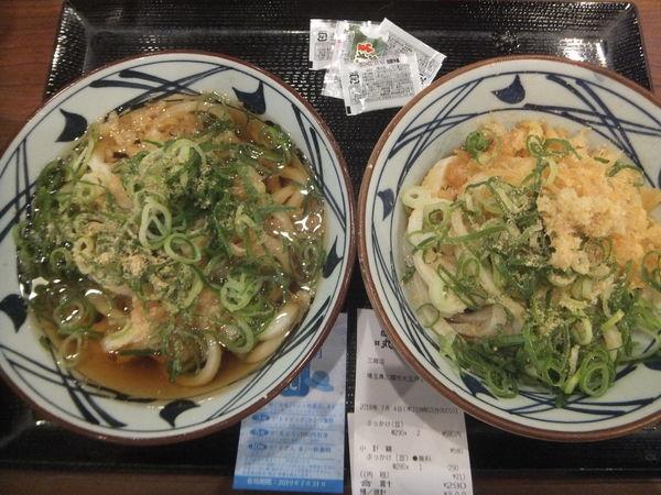 「ぶっかけ並290円(納涼祭にて2杯目無料)」@丸亀製麺 三郷店の写真