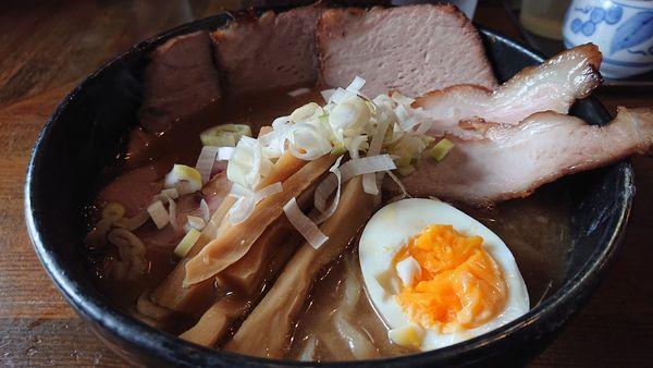 「チャーシュー中華そば」@麺 池谷精肉店の写真