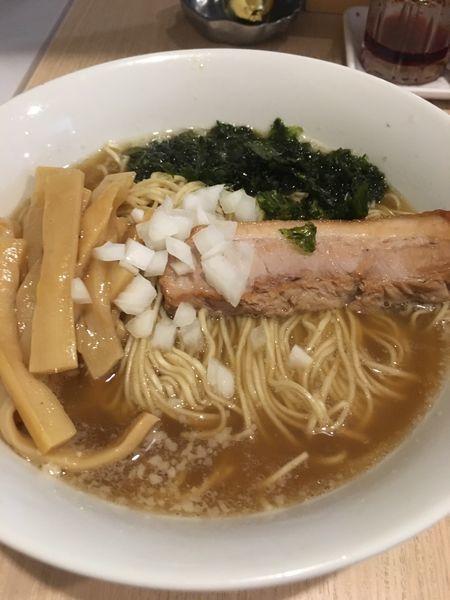 「ラーメン大盛+メンマ増」@麺&cafe Coi.Coi.の写真