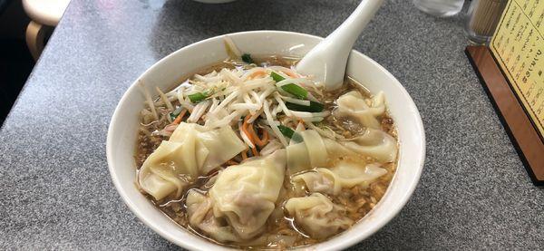 「もやしワンタン麺」@喜楽の写真
