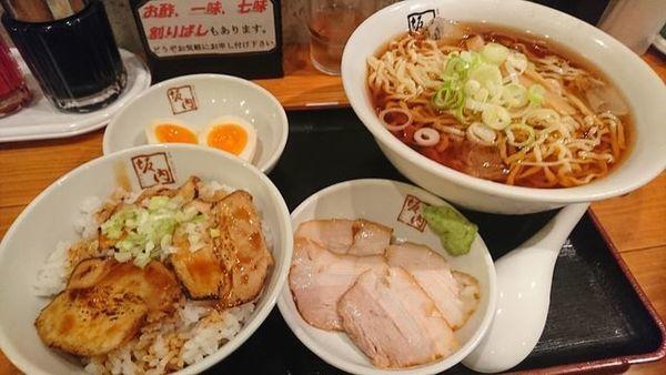 「和風冷やしラーメン(期間限定)」@喜多方 坂内食堂 京都店の写真