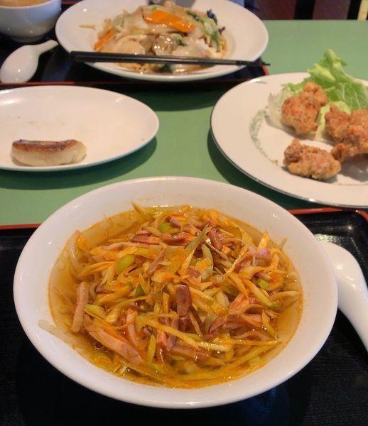 「三才特製葱叉焼麺」@三才坊の写真