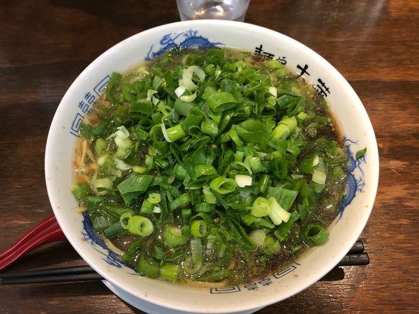 「中華そば ネギ増し¥850」@麺や 太華の写真