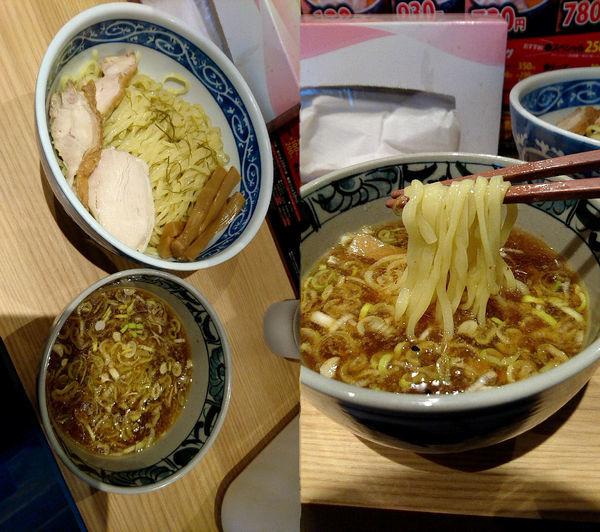 「限定『ホタテ昆布水の鶏つけ麺+大盛(¥850+100)』」@中華そば 初代 修の写真