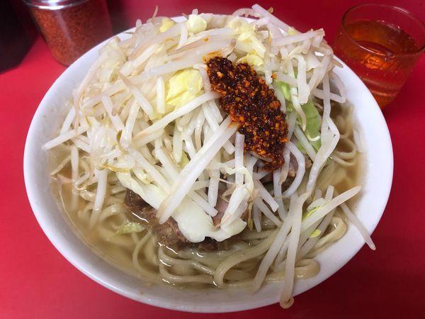 「小ラーメン ¥750」@ラーメン二郎 千住大橋駅前店の写真
