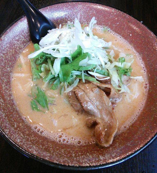「担々麺 800円」@まるはたんたんめんの写真