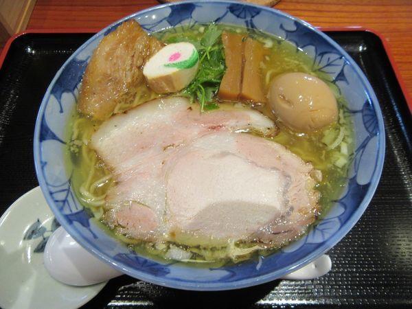 「特製塩そば(1000円)」@食煅 もみじの写真
