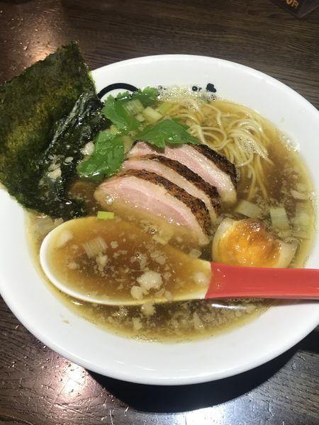 「鴨煮干し醤油」@麺屋 時茂 西川口店の写真