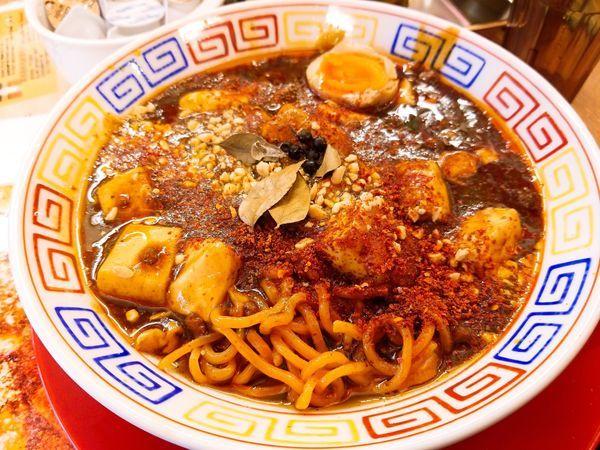 「カレー麻婆麺」@スパイス食堂 サワキチ 東京築地店の写真