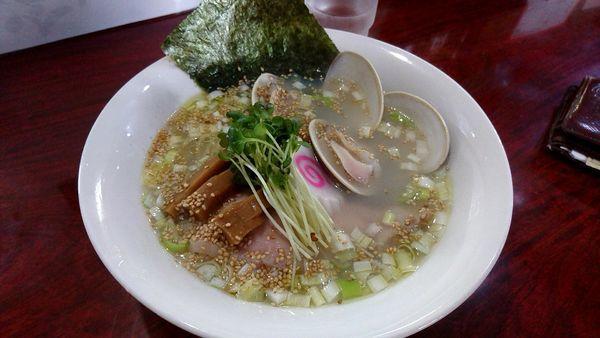 「蛤塩ラーメン 1,000円」@麺処 本日晴天の写真