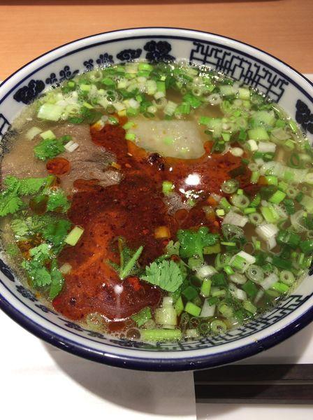 「牛肉麺 小 680円」@薩斐蘭州牛肉麺 池袋店の写真