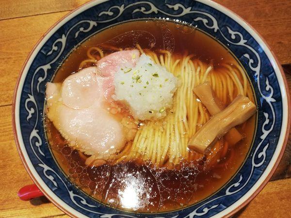 「醤油らーめん」@麺屋 坂本01 新潟駅前店の写真