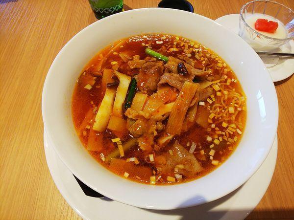 「ニンニク入り醤油らーめん」@軽井沢72東コースレストランの写真
