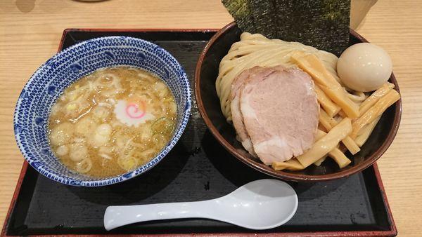 「特製つけめん(中) 980円」@舎鈴 田町駅前店の写真