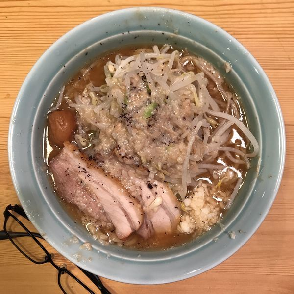 「梅えぼし」@えぼし麺 菜良の写真