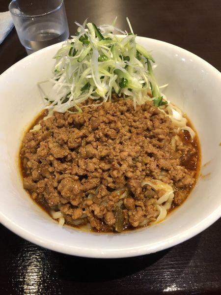 「【限定】炸醤麺」@ラーメンとカレーの店。の写真