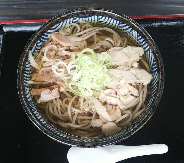 「肉そば並冷650円」@肉そば すみどやの写真