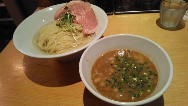 「濃厚海老煮干しつけ麺ファビュラス」@麺屋 まほろ芭の写真