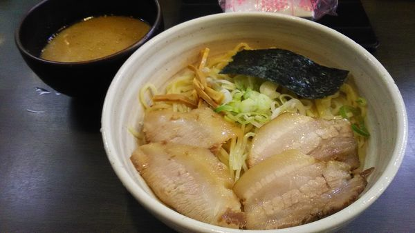 「[限定]塩つけ麺」@風来居 新宿店の写真