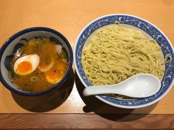 「大盛り特製つけ麺 ¥1,050」@中華そば 青葉 東大和店の写真