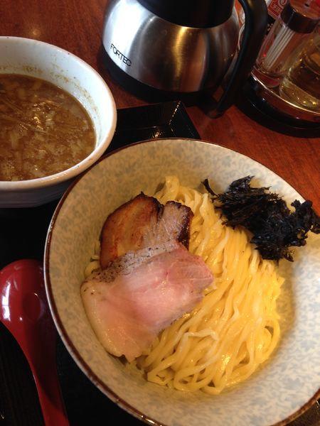 「煮干しつけめん 730円」@中華そば 蓮の華の写真