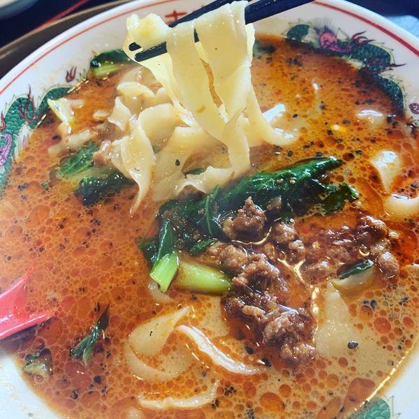 「坦々刀削麺」@中国料理 新農村の写真