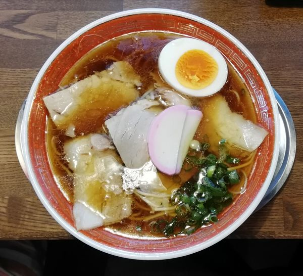 「中華蕎麦」@中華蕎麦 かたやま 本店の写真