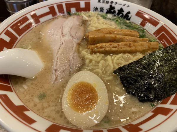 「東京豚骨ラーメン」@屯ちん 池袋西口店の写真