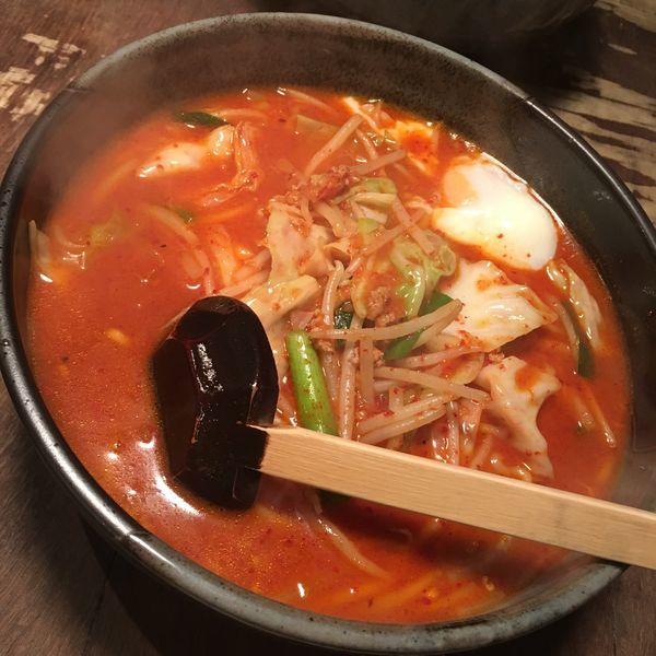 「九州辛味噌麺(大盛)」@九州一番 登戸店の写真