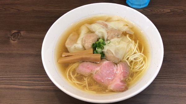 「塩ワンタン麺¥850」@中華そば さわの写真