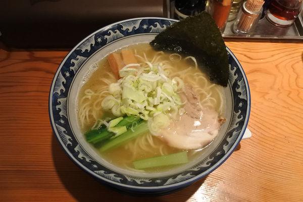 「龍神らーめん(塩)¥610」@龍神麺の写真