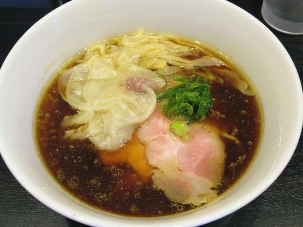 「鶏の中華そば(750円)」@麺屋かなでの写真