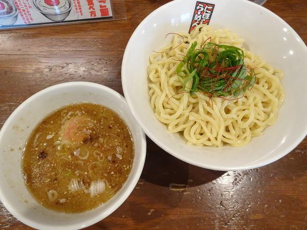「塩煮干しつけ麺」@煮干しらーめん 玉五郎 くずはモール店の写真