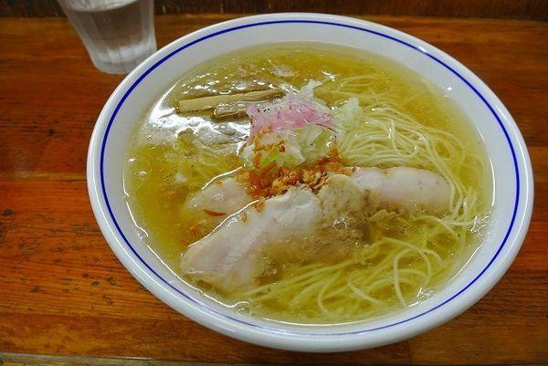 「塩ラーメン750円」@支那そば 福々亭の写真