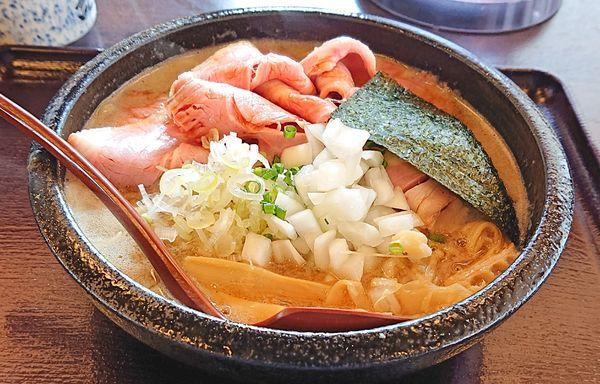 「肉そば1130」@麺通 伊武記の写真